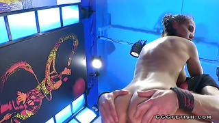 Nicole love gets cums facials and banging