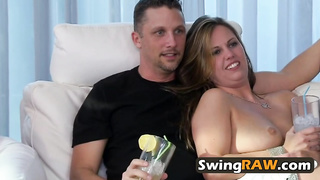 Couples at the Swinger Mansion gets hot