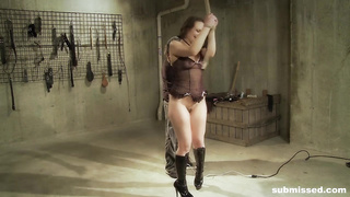 Nora enjoys electro play and spanking