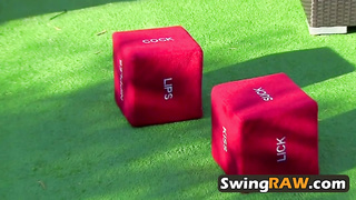 Dices games turn swingers on