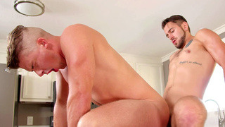 Stud gay suddenly being around a gay guy