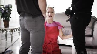 Candice Dare raped by 2 burglars (full porn video)