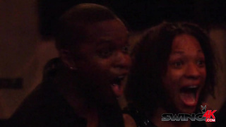 Interracial orgy with a black couple 2 video
