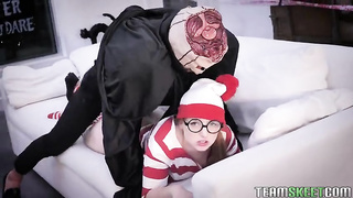 Exxxtra Small Halloween 2019 - Trick Or Treat Pussy Teasing - Cleo Clementine