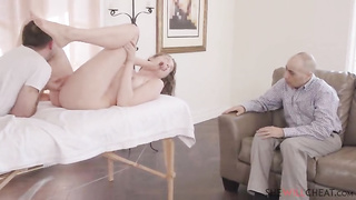Cheating GF free porn video with sexy pornstar Elena Koshka