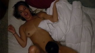 Horny MILF enjoyed with a younger guy