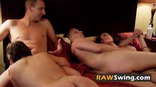 Fucking and fucking is what swingers