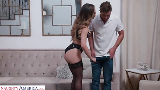 Hot American mom Cherie Deville need young hard cock