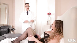 Candy Alexa big tits babe gets fucked buy doctor`s big cock hot porn video