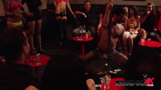Pussy licking at the red room