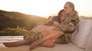 Lesbian sex 2019 Elexis Monroe, Brandi Love full porn video MP4