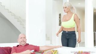 Banging My Husband's Boss (2018) Bill Bailey, Bridgette B - Brazzers, Milfs Like It Big