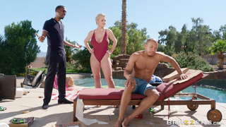Brazzers Black Friday Sale! - Backyard Banging (2019) Dee Williams & Ricky Johnson - HD