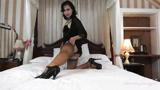 High Heels & stockings fetish video solo hot