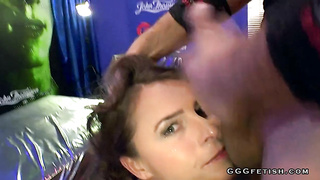 Sexy susi shows amazing mouth fucking and facials