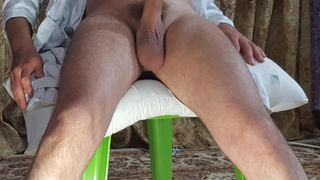 boy with big white cock and heavy balls