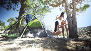 Girls Gone Camping (2019) Milana Ricci, Vina Sky - MOFOS, Girls Gone Pink