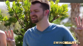 Swingers are getting to know each other