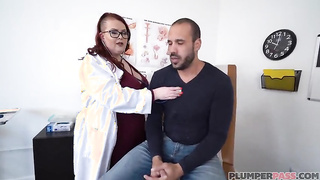BBW Doctor fucks her patient - Ruby Sinclaire