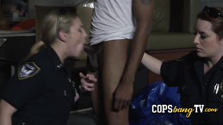 Horny female cops are looking for BBC