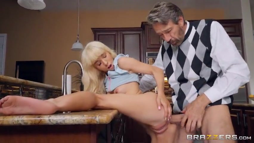 Grounded Daughter Fucks Dad