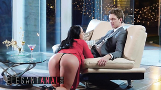 BABES - Xmas anal hotfuck for huge tits pornstar - Angela White, Markus Dupree - HD 720p