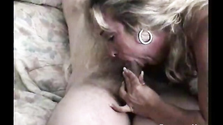 Sucking my cock like a porn actress