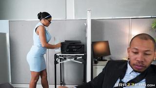 Brazzers - My Overly Anal Secretary (2020) Luna Star & Ricky Johnson