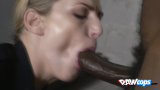 Blondie cop enjoys fucking with her cop