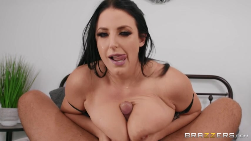 Angela White Cum Swallow