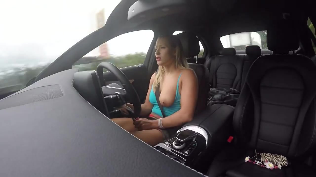 Fingering Myself While Driving