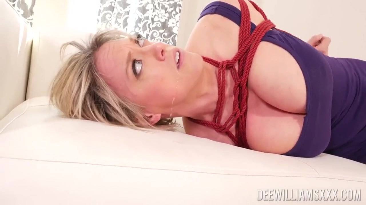 Tied Up Fucked Threesome