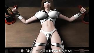 3D Japanese Porn Video Online with sex 3d model and warrior