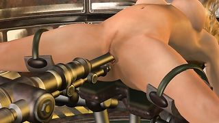 3D BDSM Game from Christie's Room - Sex Machine Fucking [flash]