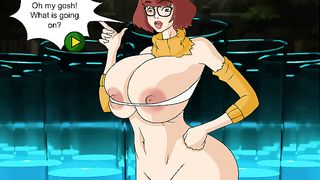 Scooby doo XXX Parody Porn Game with Velma [flash]