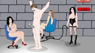 Cartoon Sex Game - Three Hollywood Whores Online [flash]