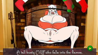 Cartoon XXX Game - Santa`s fat whore [flash]