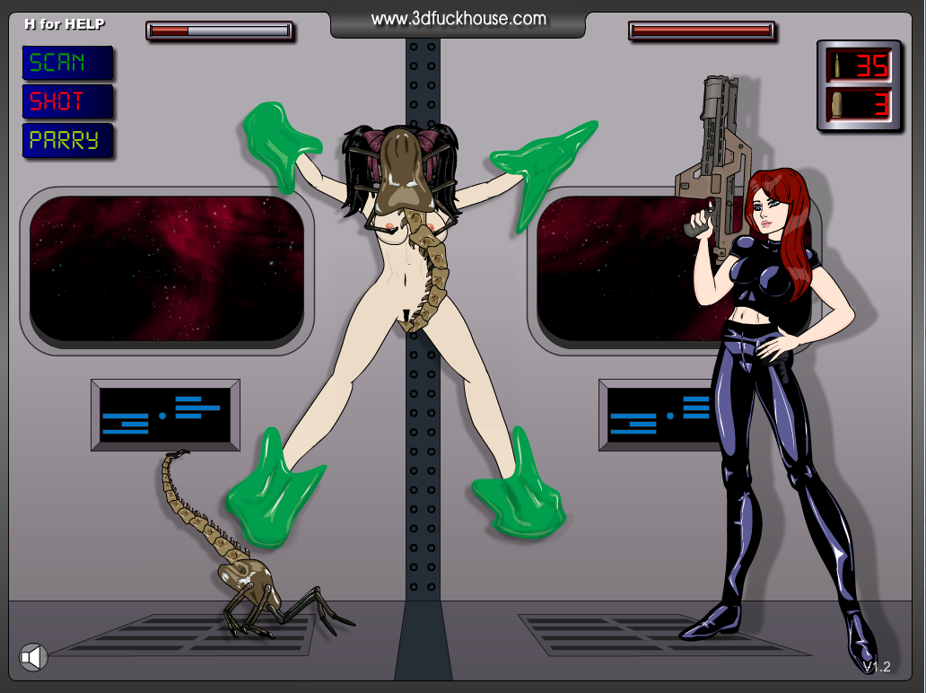 cartoon porn game - the alien xxx parody [flash]porn games - fpo.xxx