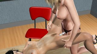 3D Sex Game Christie`s Room 2007 - Summer Fuck School [flash]