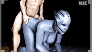 3D Porn Game - Fuck Alien Girl With Big Boobs [flash]