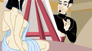 Cartoon XXX GAME WITH SEXY MOMMIES [flash]