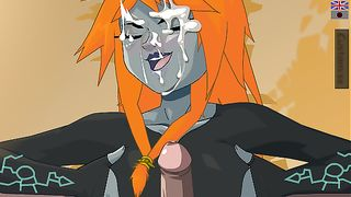 Hentai Girl Midna Need For Sperm On Her Face - Cumming Game Online [flash]