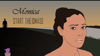 Cartoon XXX Game - Monica Run From Rapist [flash]