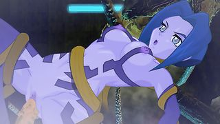 Hentai Porn Game - Blue Teen Girl Fucked By Tentacle Monster [flash]