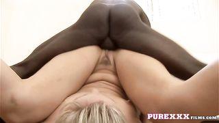 Pure XXX Films - Interracial, BBC, Blonde: Fucking Angel