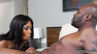 WCP CLUB - Ebony beauty Jade sucks and fucks like a pro
