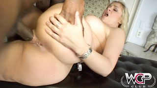 WCP CLUB - Cuckold:  Juicy booty blonde slut gets pounded - 1080p HD