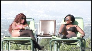 Black lesbian lovers