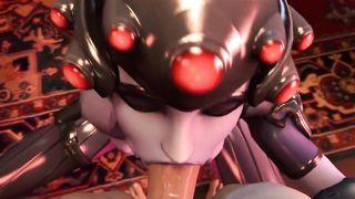 OVERWATCH 3D XXX WIDOWMAKER
