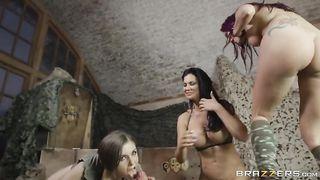 Brazzers - Call of Duty XXX Parody - Stella Cox, Monique Alexander, Jasmine Jae
